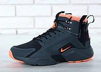 Зимние кроссовки на меху Nike Huarache Acronym City