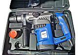 Перфоратор бочковой Витязь ПЭ-1600 с набором в кейсе, фото 8