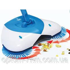 Механическая щетка веник швабра для уборки пола Spin Broom Спин Брум N