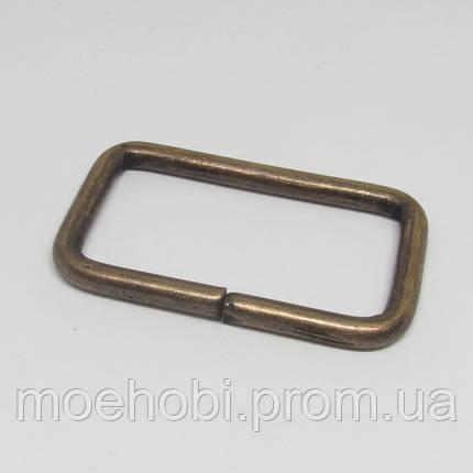 Рамки для сумок (40мм) антик,  4134, фото 2