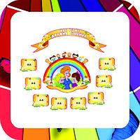 Стенди для коридора ►візитка дитячого садочка
