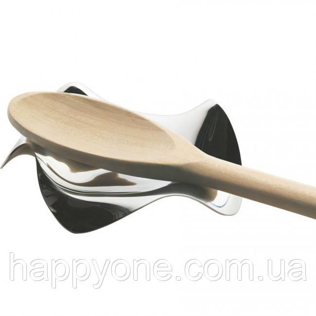 Подставка для ложки Blip Alessi (полированная сталь)