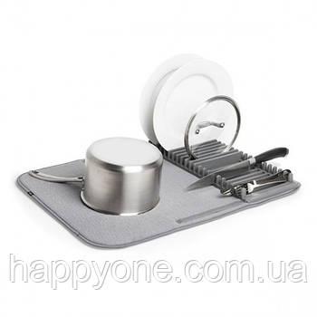 Сушка для посуды Udry Umbra (серая)