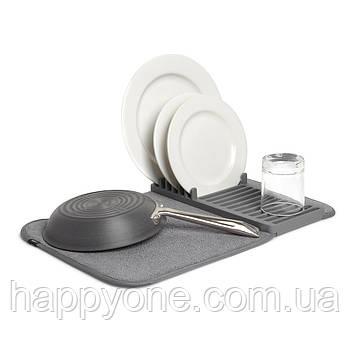 Сушка для посуды Udry Mini Umbra (серая)