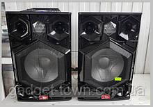 """Потужні активні колонки RB-886 Пара, 400W, Bass 15"""", Bluetooth, FM, еквалайзер"""