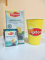 Зеленый чай Lipton Green Tea Citrus (Зеленый с Цитрусовыми), 25*2 г