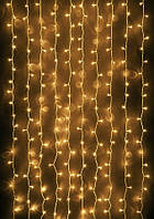 Гирлянда Водопад (Штора) 320 LED 3m*2m, Тепло-белая