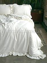 Комплект постельного белья 160x220 LIMASSO SNOW WHITE EXCLUSIVE молочный