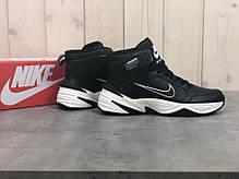 Зимние кроссовки Nike M2K Tekno Mid ( Черные / Белые ), фото 2