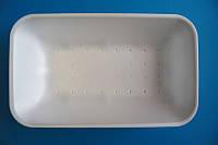 Влаговпитывающий лоток из вспененного полистирола M3-40 (222x133x40)