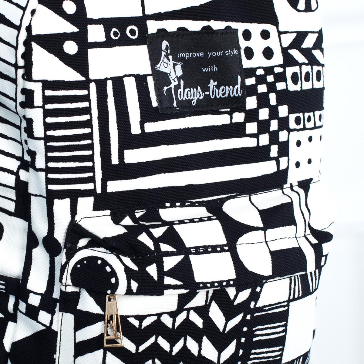 Рюкзак Mayers молодежный с абстрактным принтом и логотипом, 7.5 л, фото 3