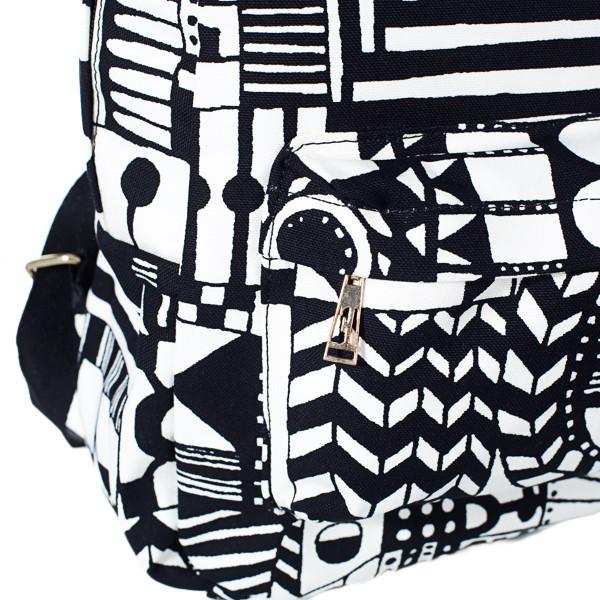 Рюкзак Mayers молодежный с абстрактным принтом и логотипом, 7.5 л, фото 6