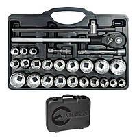 Intertool ET-6026 Профессиональный набор инструментов 3/4, 26 ед., Cr-V.