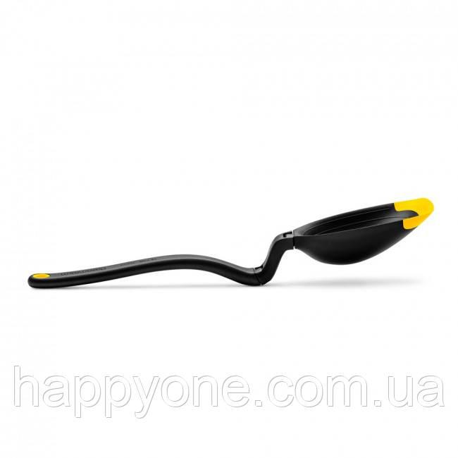 Многофункциональная кухонная ложка-половник Spadle Dreamfarm (желтая)