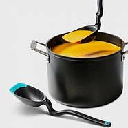 Многофункциональная кухонная ложка-половник Spadle Dreamfarm (желтая), фото 5
