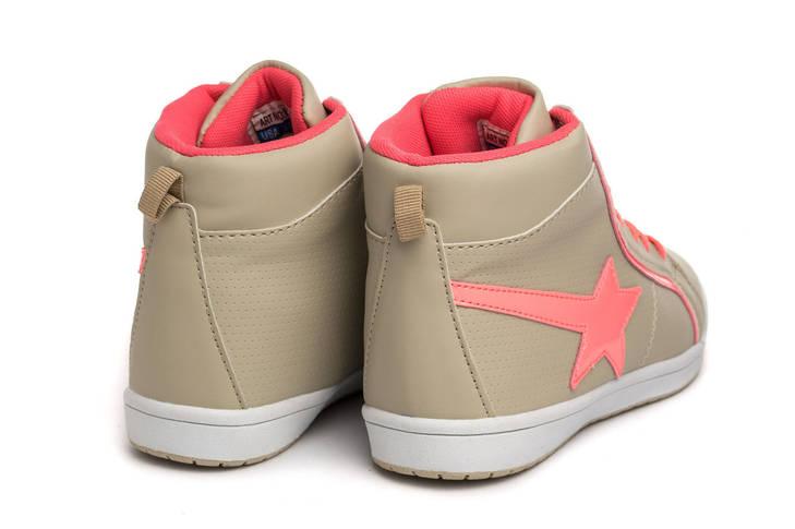 Кроссовки женские Haver star grey pink 40, фото 2