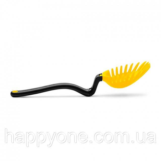 Многофункциональная кухонная ложка-шумовка Holey Spadle Dreamfarm (желтая)