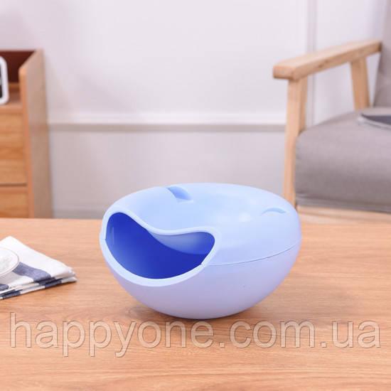 Миска для семечек с подставкой для телефона (сиреневая)