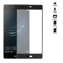 Защитное стекло OP Full cover для Huawei P9 Plus черный