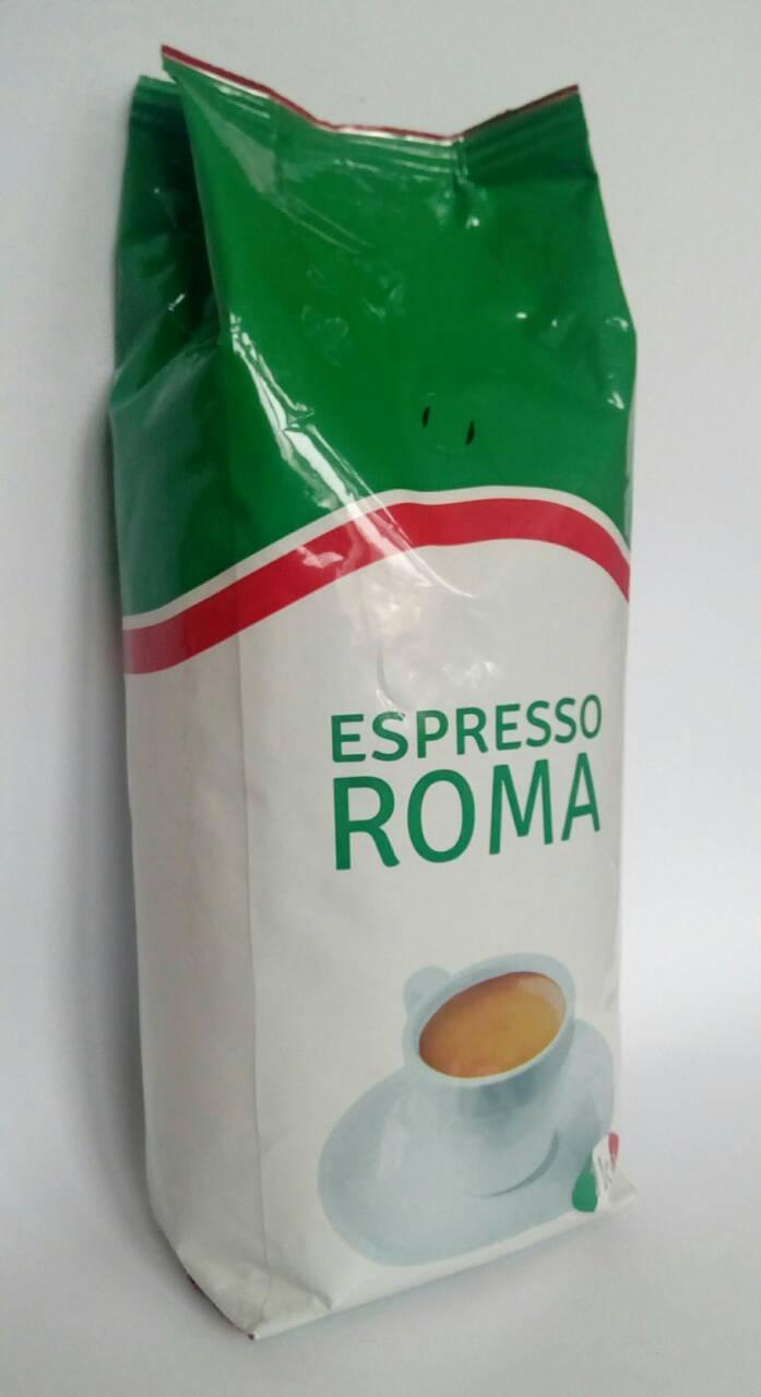 Кофе Віденська кава Espresso ROMA в зернах 1 кг