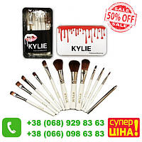 Набор профессиональных кистей для макияжа Kylie Professional Brush Set 12 шт