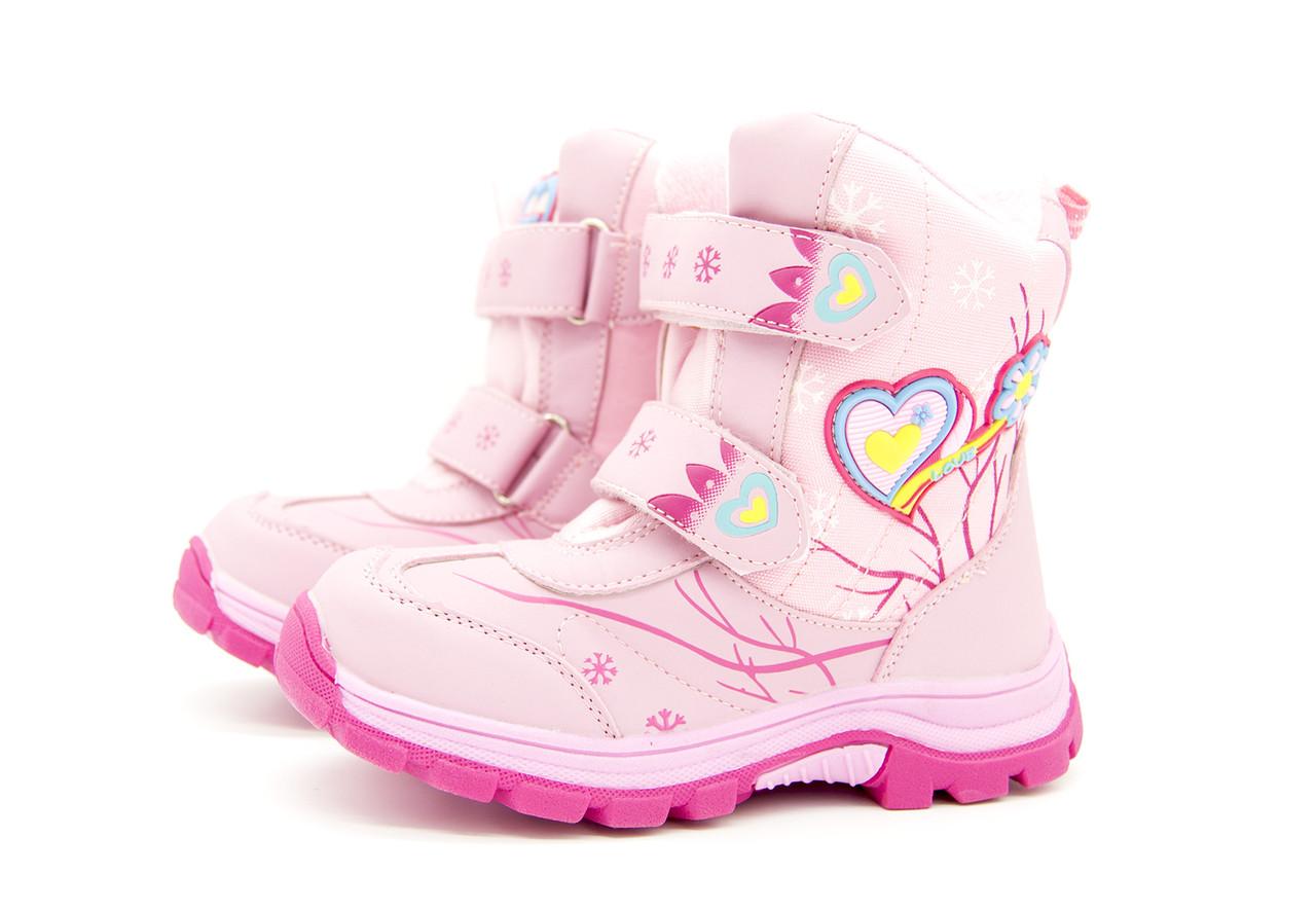Ботинки для девочки  зима