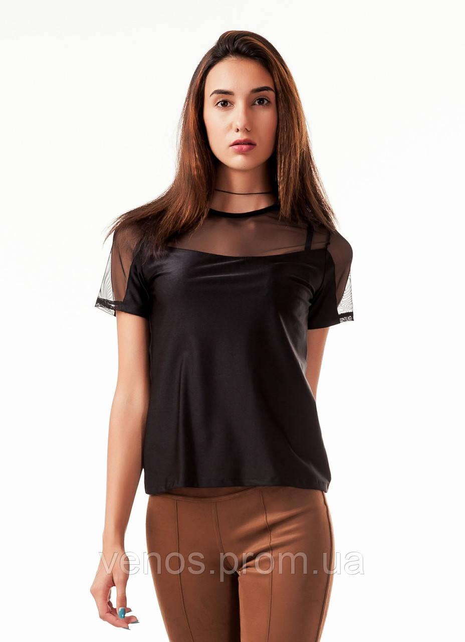 Женская спортивная футболка. К086