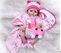 Кукла  реборн девочка  полностью из винил-силикона / Кукла,пупс reborn