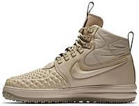 Мужские кроссовки Nike Lunar Force 1 Duckboot 17 Linen (найк лунар форс 1  дакбут, 6ec34478ff6