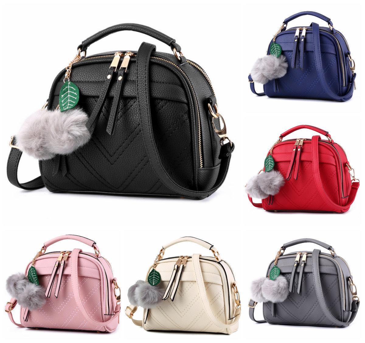 931256f96b76 Сумка женская через плечо Stylish bag с помпоном - Интернет-магазин
