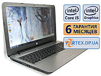Ноутбук HP 15-ay 15.6 (1366x768) / Intel Core i5-7200U (2x2.5GHz) / Intel HD Graphics 620, 1Gb / RAM 8Gb / SSD 120Gb / АКБ 4 ч. / Сост. 9 БУ