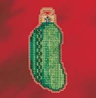 Набор для вышивки крестиком и бисером Christmas Pickle Mill Hill