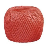 Шпагат полипропиленовый  красный 60 м 1200 текс Сибртех 93975