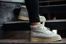 """Зимние ботинки на меху South Navy """"Серые"""", фото 2"""