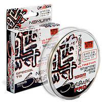 Шнур Nomura Sensum PRO Ultrathin 100м(109yds) 0.10 мм, 6.3 кг, колір-translucent white (полупр.білий)