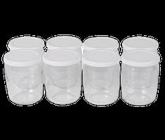 Набор баночек для йогурта круглых (8шт.) Tefal 989641