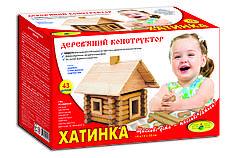 Деревянный конструктор Домик, 43 детали
