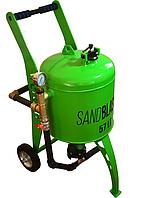 Пескоструйный профессиональный аппарат SandBlaster 57 литров, фото 1