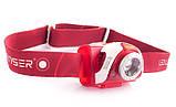 Ліхтар налобний LedLenser SEO 5 RED, фото 3