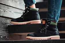 """Зимние ботинки на меху South Forest """"Black"""" (Черные), фото 3"""