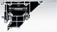 Алюминиевая роликовая карека для форматно-раскроечных станков любых брендов длина 3200 мм