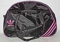 Сумка дорожная спортивная Adidas, размеры 28 42 см (3 цвета) Серии