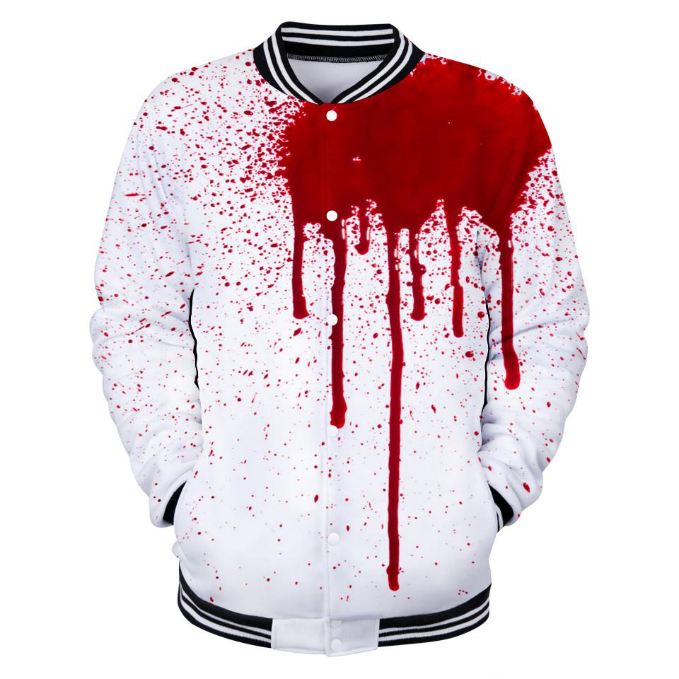3112d4492d0 Стильная мужская куртка! Белая куртка рубашка с пятном крови!