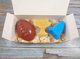 """Подарочный набор мыла """"Игроку в американский футбол"""""""