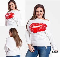 Туніка жіноча на одне плече 3-669 Ан