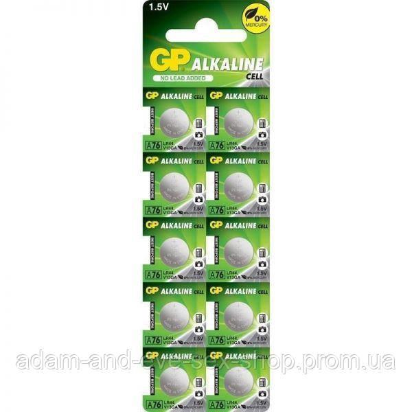 Батарейки GP Alkaline LR44, 2 шт