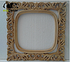 Зеркало настенное Adana в белой с золотом раме R3, фото 4