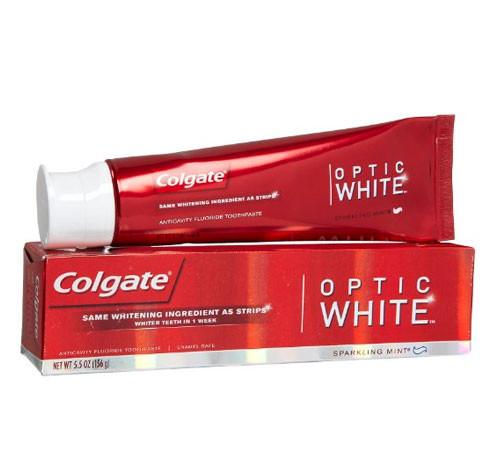 Colgate Optic White (5.5oz=156g) отбеливающая зубная паста