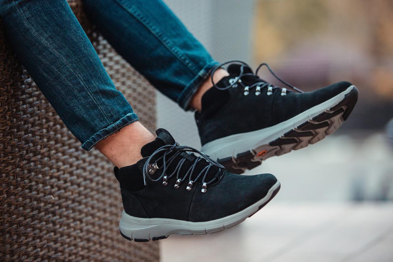 """Зимние ботинки-кроссовки на меху South Tactic """"Черные"""""""