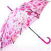 Яркий женский зонт-трость, полуавтомат ZEST (ЗЕСТ) Z21625-17